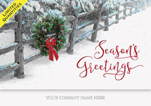 Crisp Winter Moment Holiday Cards